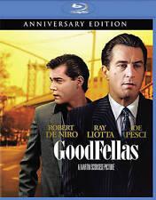 Goodfellas (Blu-ray Disc, 2015, 25th Anniversary Edition) New