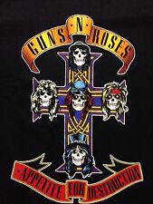 Used Guns Roses Rock Medium T Shirt Punk Metal Band Music Axle Slash Duff Guitar