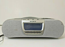 Sony Dream Machine Icf-Cd830 Am Fm Alarm Clock Radio Cd Player with Manual