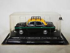 Miniature IXO Véhicule Altaya Taxi du Monde Hindustan Ambassador New Delhi 1980