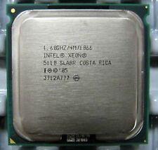 Intel Xeon Dual Core 1.6 ghz 4m 1066 Socket 771 slabr 5110 Procesador Woodcrest