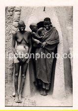 TCHAD, FEMMES MOUSGOUMS - tirage argentique original circa 1940.