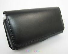 LEATHER CASE BELT CLIP FOR SAMSUNG GALAXY S5 S6 S7 CARRYING HOLSTER POUCH