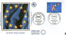 FDC - FRANCE 2776 - LE MARCHE UNIQUE EUROPEEN