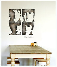 WALL STENCILS PATTERN Airbrush STENCIL LARGE THE Beatles