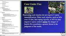 TCCC TC3 TC-3 Trauma Care COMBAT MEDIC BTLS CASUALTY ASSESSMENT Presentation CD
