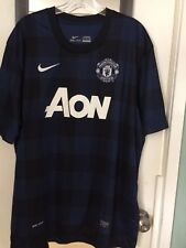 Nike MANCHESTER UNITED 2012-2014 FOOTBALL AWAY JERSEY NIKE SIZE XXL