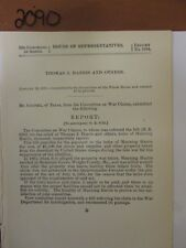 Govt Report Thomas J. Harris and Others & Manning Harris  #2090