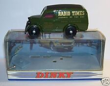 DINKY MATCHBOX FORD VAN 1950 RADIO TIMES JOURNAL DY4BOX