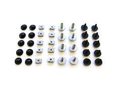 ROMIX Motor Bajo Cubierta Cierre Kit Clips, AUDI, VW, SEAT, SKODA; 90207