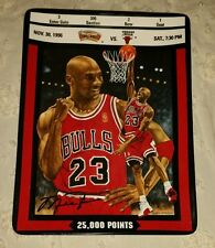 "1997 UPPER DECK MICHAEL JORDAN TICKET TO GREATNESS PLATE #1643C  ""25,000 POINTS"""