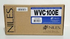 """Niles Audio"" WVC100E Gray Weatherproof Stereo Volume Control (New)"