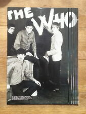 WHO 'The WHO in paint'  magazine PHOTO/Poster/clipping 11x8 inches