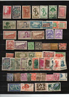 115 timbres anciennes colonies divers pays