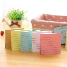 Post it Notes 3 x 3 Notebook Memo Pad Bookmark Paper Sticker Notepad Hot US