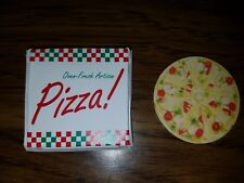 Artisan Pizza in Delivery Box D - Veggie (Barbie, Monster High Dioramas)