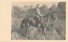 Foto, Tr.Arzt Dr.med. U.Schröter z.Pferde 3.Auf.Batl.150 Merzdorf/Schl  5026-228