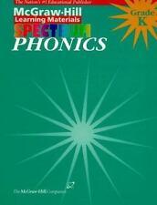 Phonics Grade Kindergarten (McGraw-Hill Learning Materials Spectrum)-ExLibrary