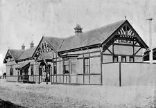 Old Photo. New Zealand.  Temuka Train Station