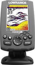 "New Lowrance Hook-3x 3.5""  Fishfinder w/ 83/200 KHz Transducer - #000-12635-001"