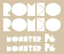 Romeo Monster P6-2 Série Adhésifs Stickers