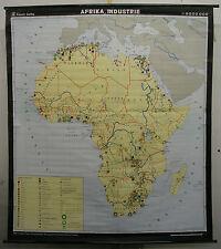Scheda crocifissi Africa Africa 6mio MURO CARTA MAPPA Industie 1973 160x180 Map