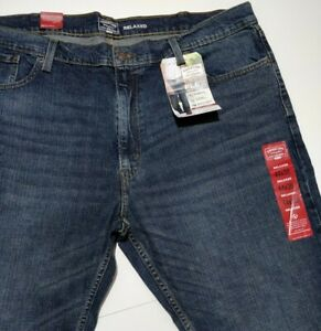 Signature by Levi Strauss Gold Label Men's Relaxed Fit In Westwood Blue, 46X30