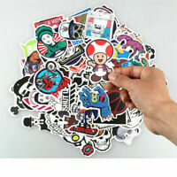 Lot 100x Random Bomb Vinyl Laptop Skateboard Stickers Luggage Decals Sticker DIY