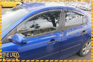 Weathershields, Weather shields for Mazda 3 BK sedan 04-09 Sun Visors