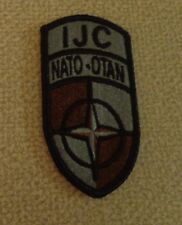 ARMY SHOULDER PATCH,SSI, ISAF JOINT COMMAND, ACU, WITH VELCR