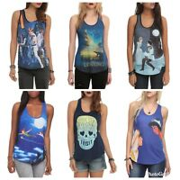 NWT MULTIPLE Disney Star Wars Harry Potter Hot Topic Tank Top Shirt SOLD OUT