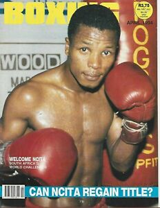 APRIL 1994 BOXING WORLD MAGAZINE THE HAWK WELCOME NCITA SOUTH AFRICAN mckinney