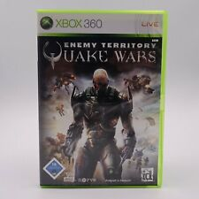Enemy Territory Quake Wars Microsoft Xbox 360 PAL Spiel Game Action Urknall