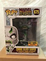 Funko POP! Marvel Zombie Silver Surfer #675 Hot Topic Exclusive