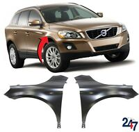 NEW VOLVO XC 60 2008 - 2013 FRONT WING FENDER LEFT N/S RIGHT O/S PAIR SET