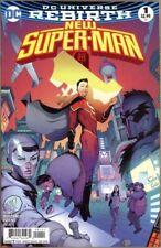 New Super-man # 1 N MINT Dc Universe Rebirth 1st print