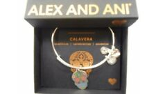 Alex and Ani Color Infusion CALAVERA Bracelet Shiny Silver NWTBC FALL 2017