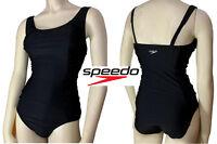 Speedo Womens Swimwear One Piece Swimsuit Shirred Tank Endurance Training NEW