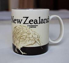 New 16oz Starbucks Coffee Mug Global Icon City New Zealand Collector Series Mugs