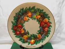 Lenox Colonial Christmas Plate 1 00004000 988 Delaware 8th Issue Usa Mint in Box w2s2