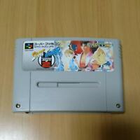 Street Fighter ZERO 2 CAPCOM Nintendo Super Famicom SFC SNES Japan Vintage Retro