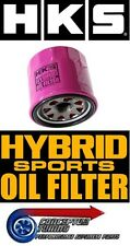 Genuine HKS High Flow Hybrid Sports Oil Filter - For S13 200SX CA18DET Turbo