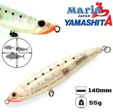 MARIA YAMASHITA SINKING STICK BAIT LOADED 140mm/55g color CSGH