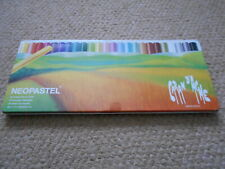 VINTAGE TIN 24 CARAN D'ACHE NEO PASTELS, PARTLY USED