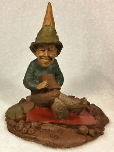 JACK OF DIAMONDS-R 1984~Tm Clark Gnome~Item #1038~Ed #50~Hand Signed~COA & Story