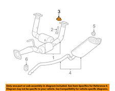 Jeep CHRYSLER OEM Grand Cherokee Exhaust-Catalytic Converter & Pipe Nut 6503231
