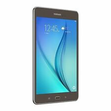 "Samsung Galaxy Tab A 8"" Tablet 16GB SM-T350 16GB WiFi MicroSD Smoky Titanium NEW"