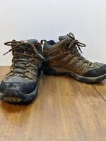 Merrell Moab Earth Mens Mid Boots Brown Waterproof Hiking J88623 Sz 8.5