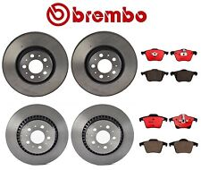 For Volvo XC90 03-14 Set of 2 Front & 2 Rear Rotors & Brake Pad Set