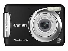 Canon PowerShot A480 10.0MP Digital Camera - Black